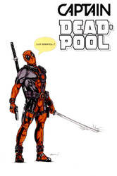 Deadpool Pin-Up 2016 Color