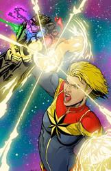 Captain Marvel Web