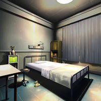 Hospital Room Scenery from PPD by wadamen
