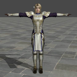Jeanne d'Arc from Bladestorm (Normal) by wadamen