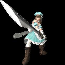 Hitomi Yomi(Senran Kagura) Costume XPS