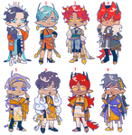 Adopts Cheebs fixed priced Open