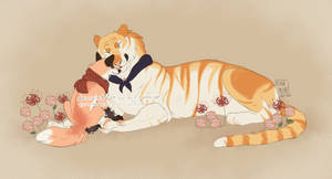 Tiger and Fox