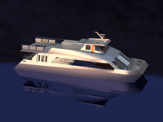 Catamaran concept design 3 by sinmania