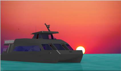 Catamaran concept design 5 by sinmania