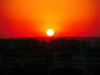 Sunset, Varna, Bulgaria by sinmania