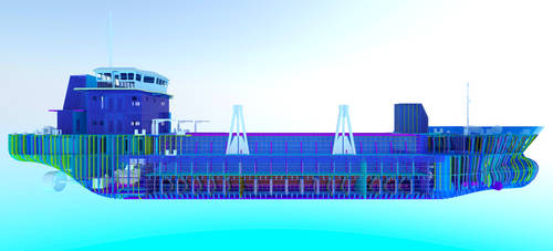 Ship Structure 1 by sinmania