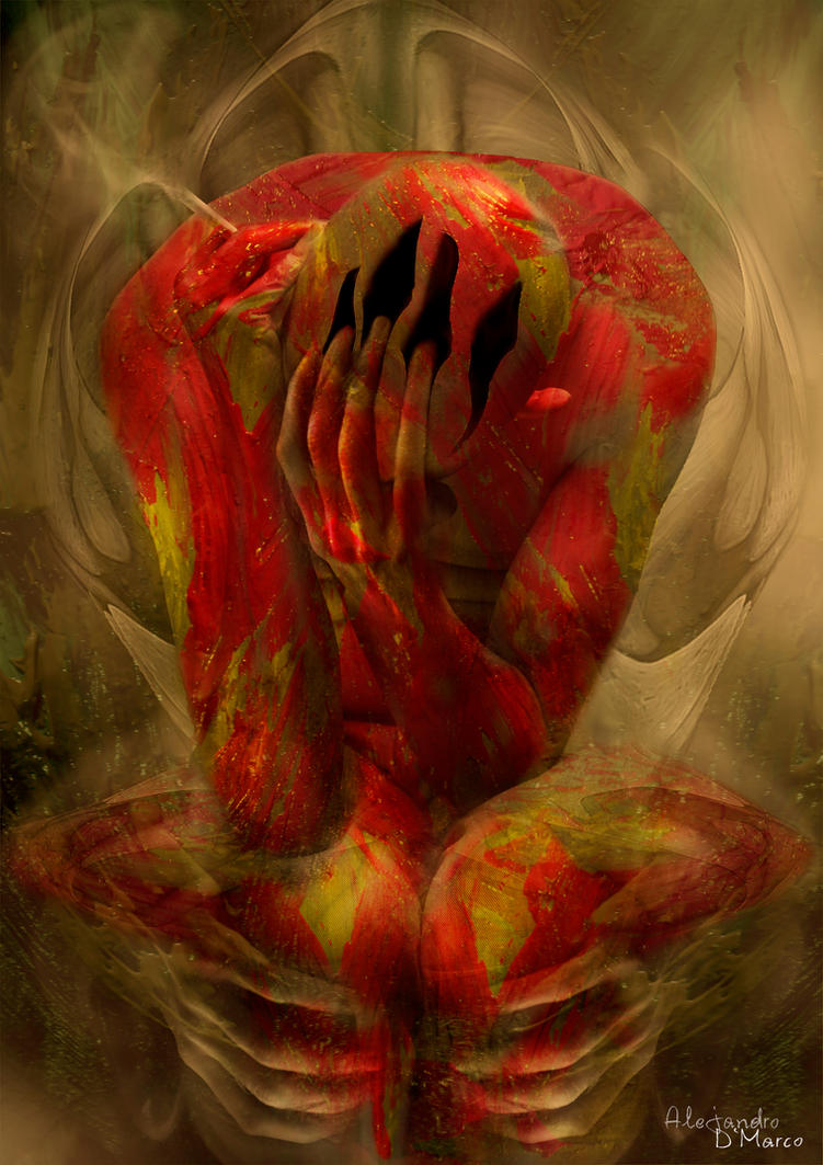 The Colour of Pain by AlejandroDMarco on DeviantArt