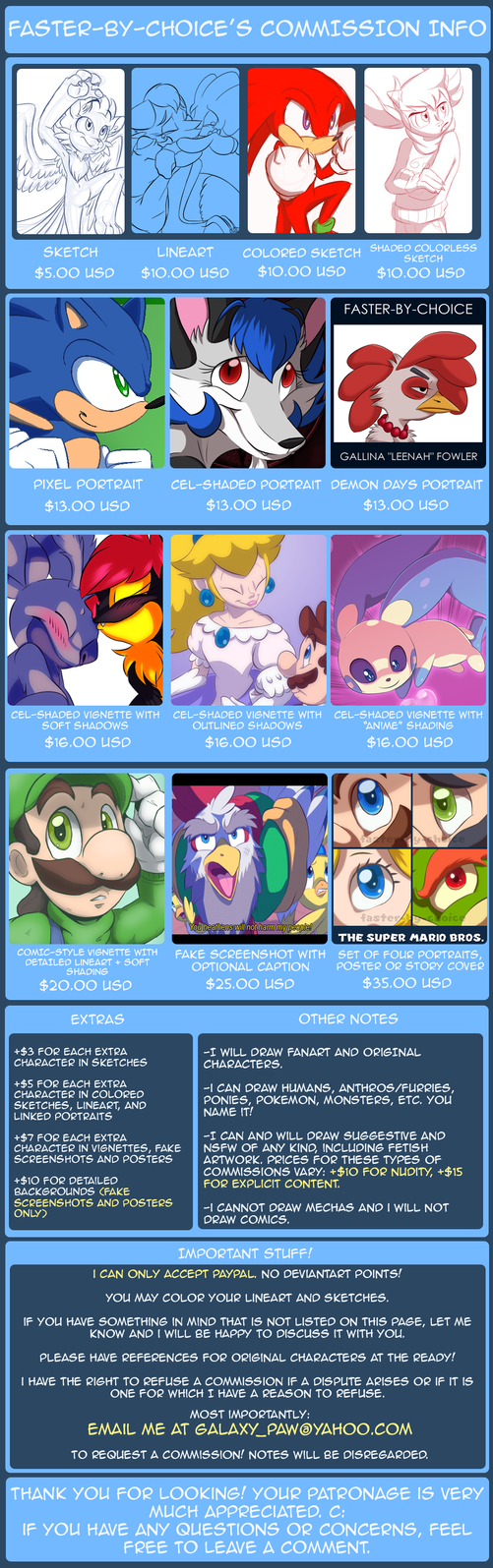 2014 Commission Chart by faster-by-choice