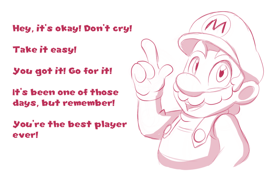 Positive Mario by faster-by-choice