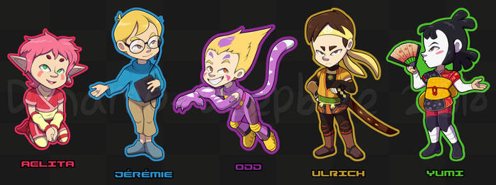Mini Lyoko Warriors