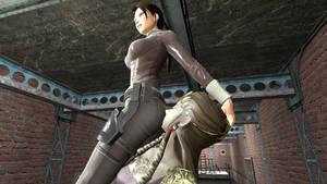 Lara Croft Stinkface 4