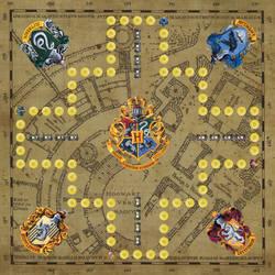 Toc boardgame - Hogwarts houses version