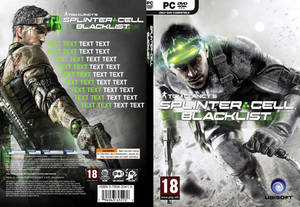 Cover PC Splinter Cell - Blacklist