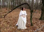 Geillis Duncan Gathering Dress from Outlander