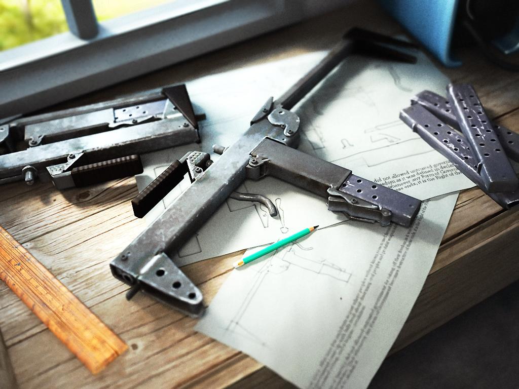 Homemade Submachine Gun Moth By Shorty91 On Deviantart