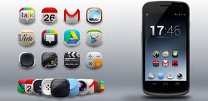 Modern Android Icons Pack- android icons