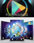 Futurounds - android icons pack