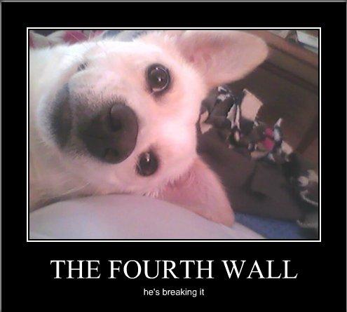 The Fourth Wall by Cartoon-Trash