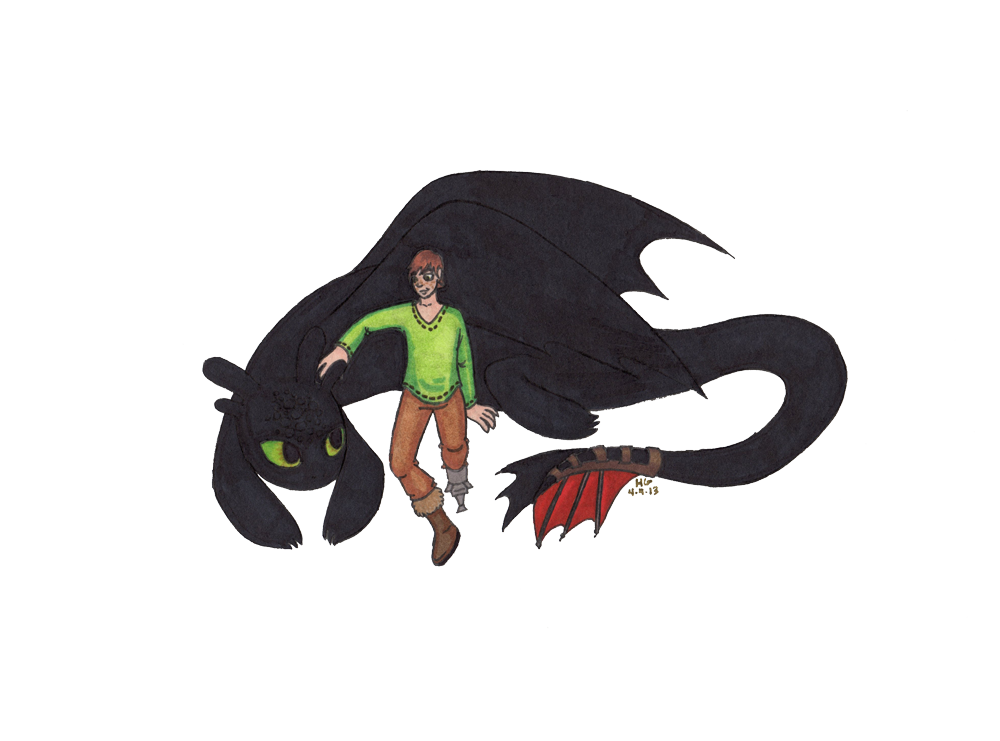 how to train your dragon b
