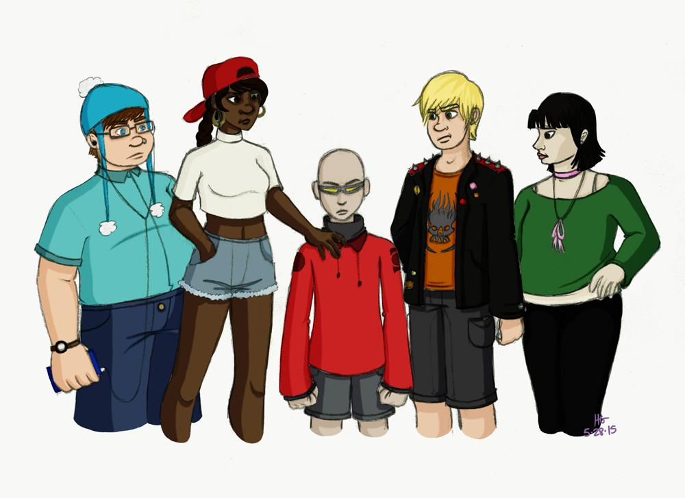 Teens Next Door by Cartoon-Trash