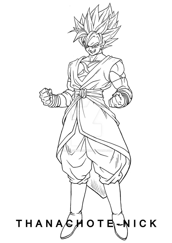 Goku Black (Xeno) SSR - DBXV2 by Thanachote-Nick on DeviantArt