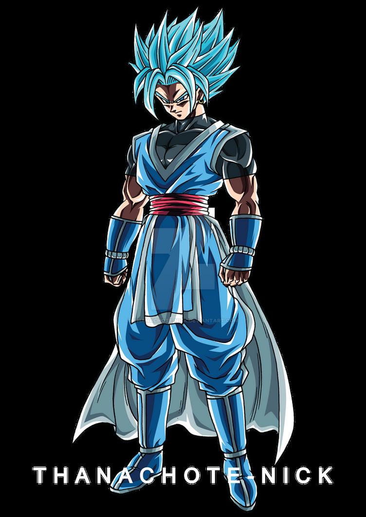 OC : Re:_Try Super Saiyan Blue - DBXV2 [COLOR] by Thanachote-Nick on ...