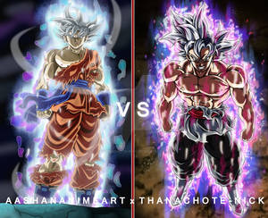Collab#2 : Goku vs Goku Black (Ultra Instinct)