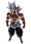 Goku Black Ultra Instinct [COLOR-4]