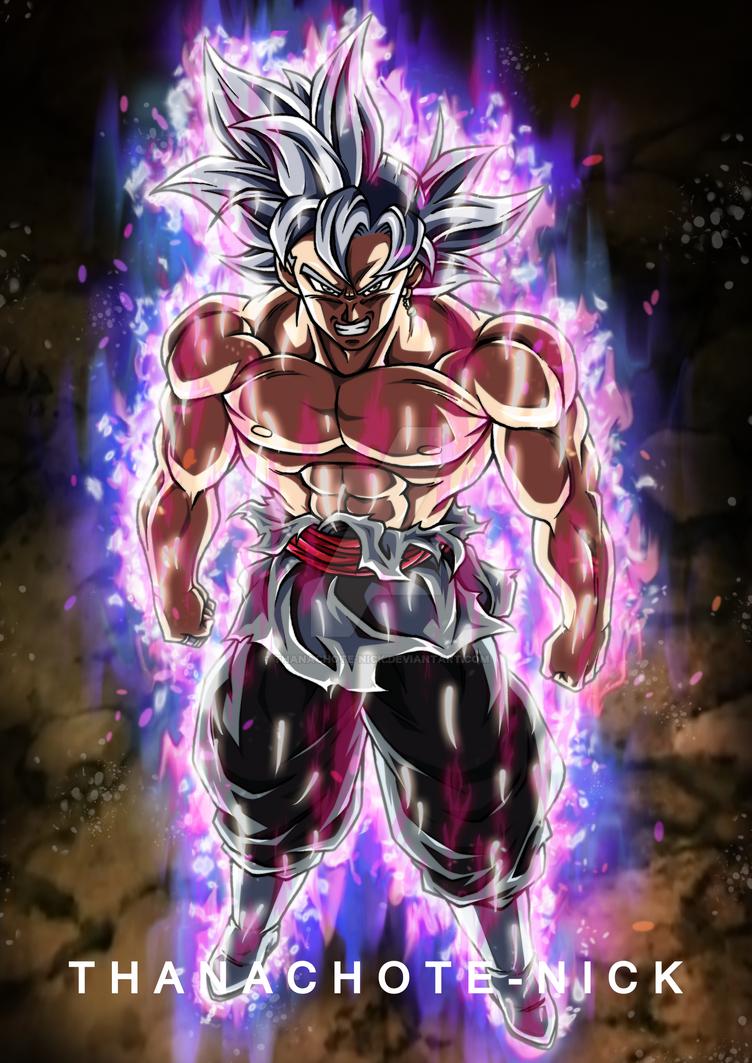 Goku Black Ultra Instinct [Aura and BG] by Thanachote-Nick
