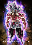 Goku Black Ultra Instinct [Aura and BG]
