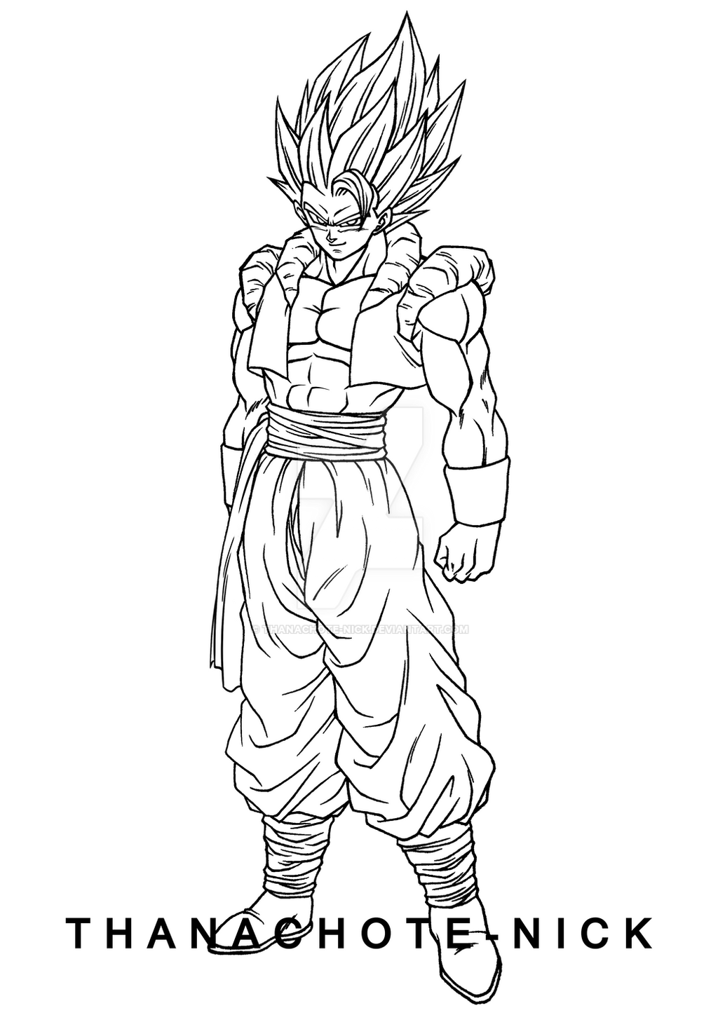 Gogeta SSGSS - DBS by Thanachote-Nick on DeviantArt
