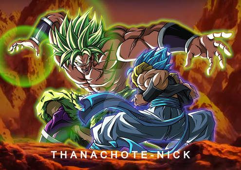 Gogeta VS Broly - DBS [FX and BG]