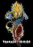 Gotenks Super Saiyan Rage Blue - DBXV2 [COLOR]