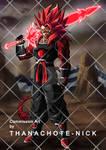 OC : Mayze SSJ4A with Ki Sword [FX and BG]