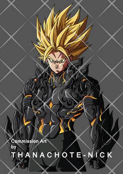 OC : Daiko SSJ2 with new armor