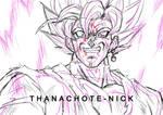 Goku Black SSR - DBS [Sketch]