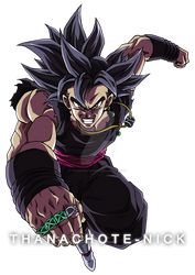Goku Black UI (Omen) - DBXV2 [COLOR-4]