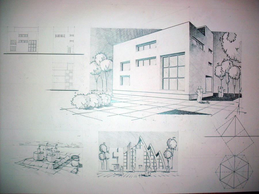 architecture 2008 by CoffeeCupcake