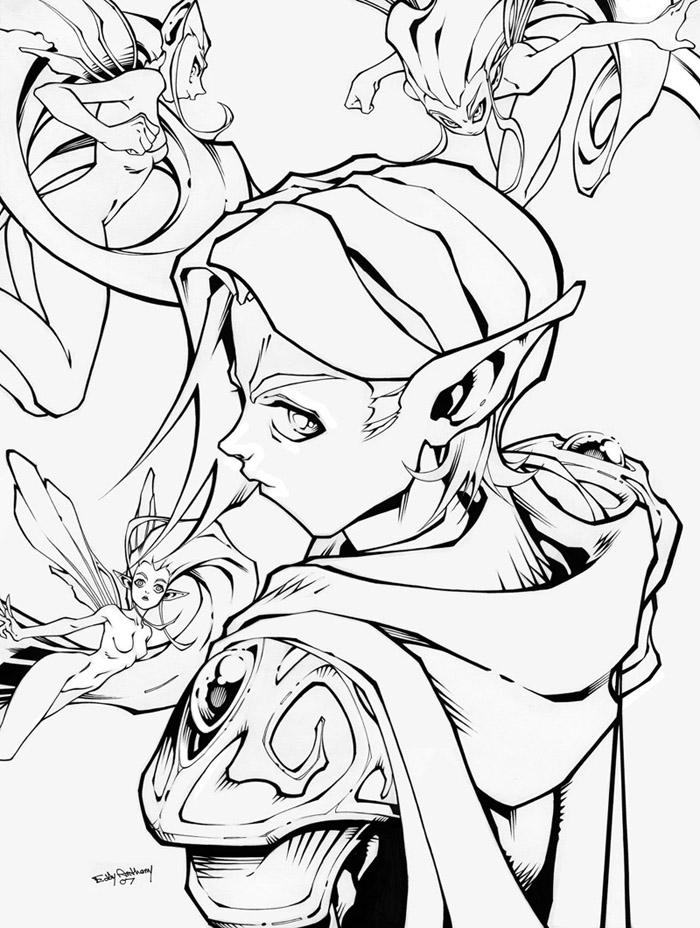Elf N Fairies by Edant