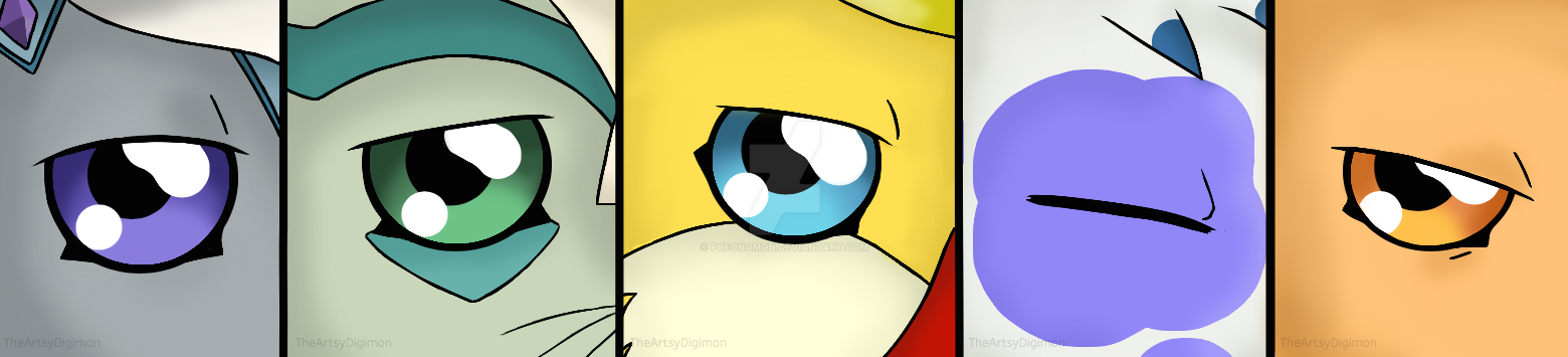 Eyes by TheArtsyDigimon