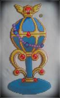Sailor Moon - Stallion Reve Pegasus Perler by Awi87
