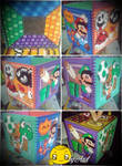 Super Mario Perler Monybox