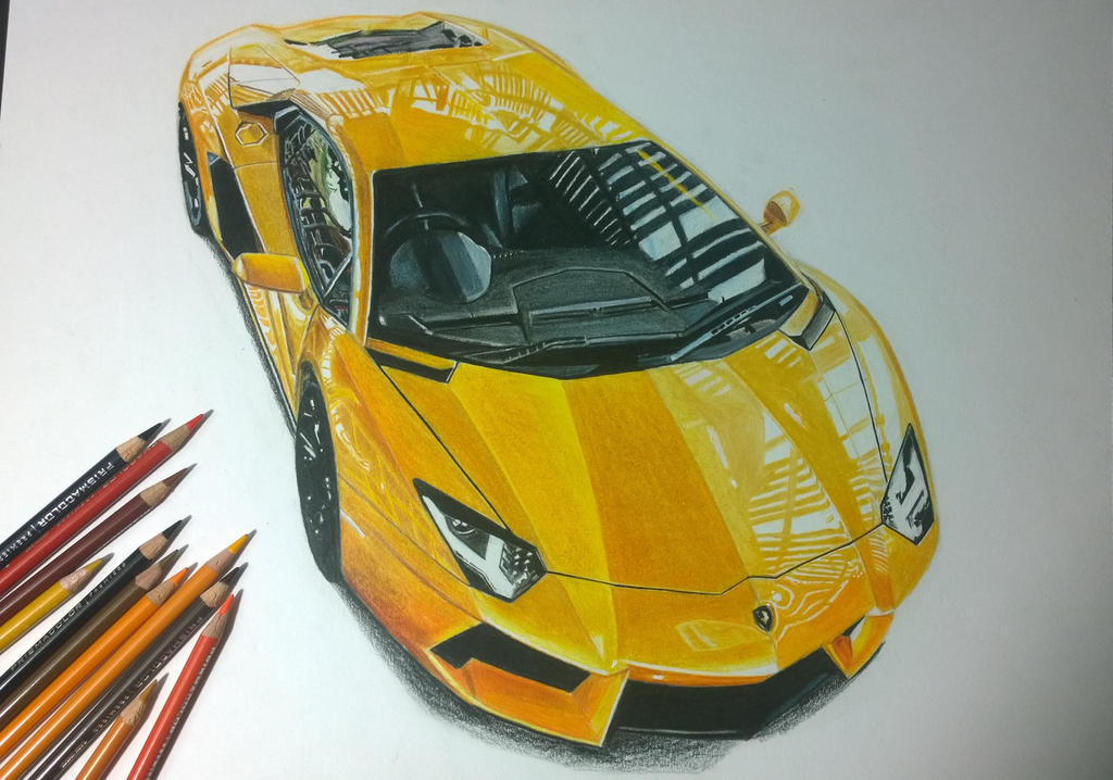 Lamborghini aventador by austingacky