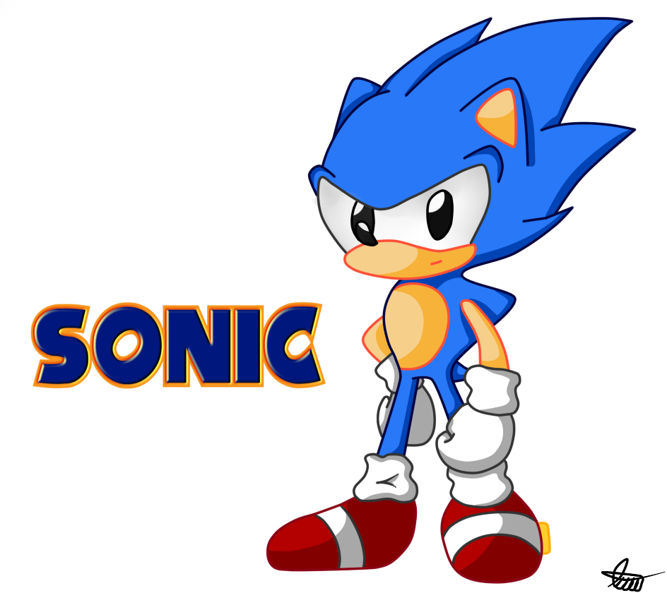 Classic Sonic: CD Style By Axl-universe On DeviantArt