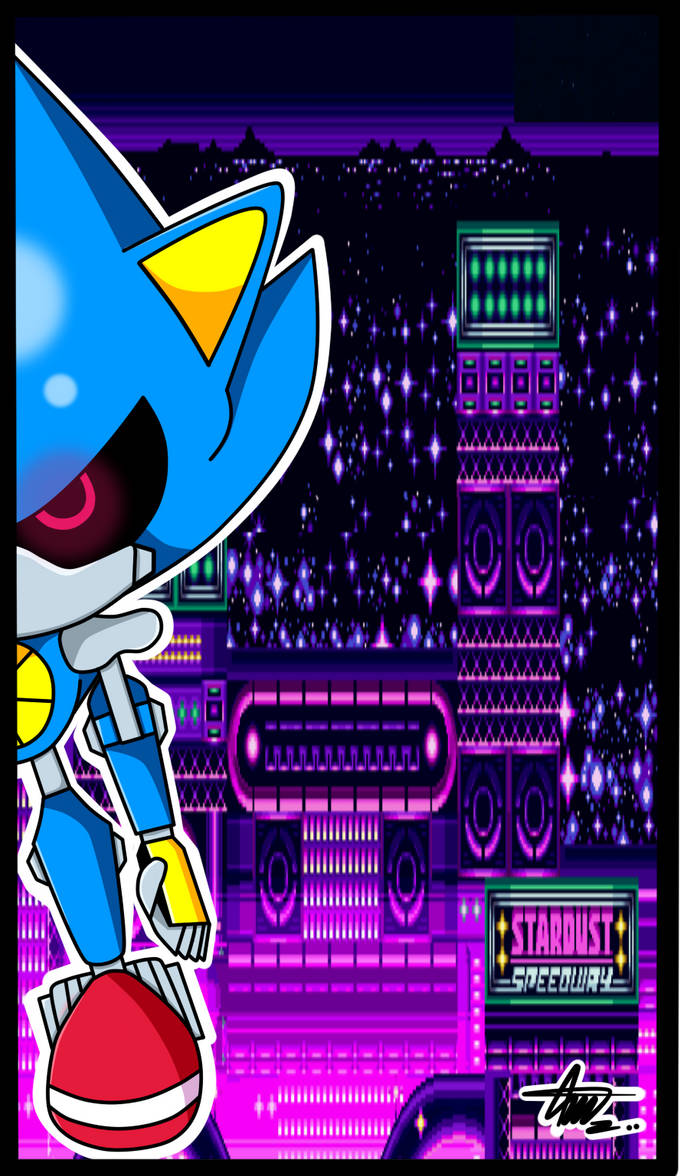 Metal sonic: Stardust Speedway!(Digital) by axl-universe