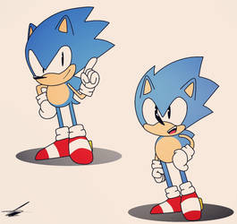 Digital Concept Sonic by axl-universe