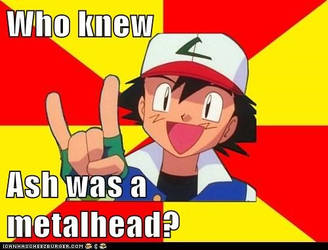 Ash the metalhead
