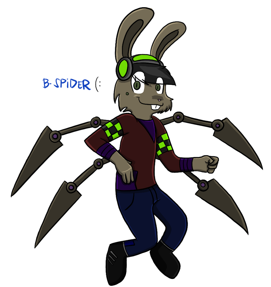 Bunny Spider. :D by terin814