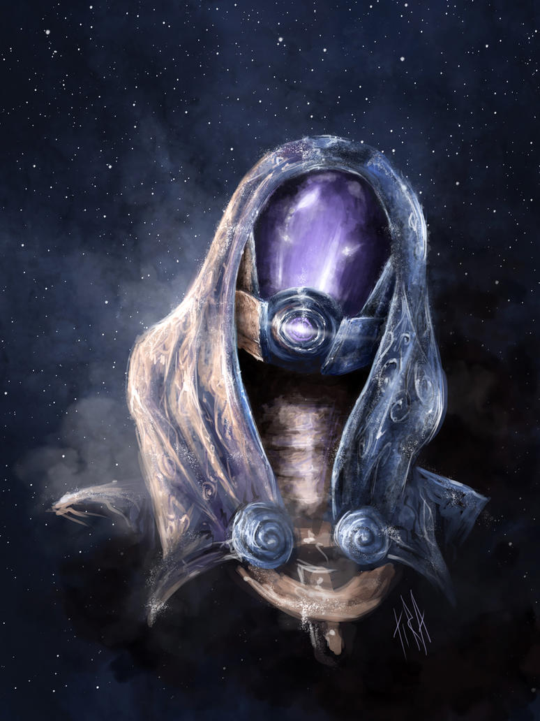 Tali'Zorah vas Normandy by Tira-Owl